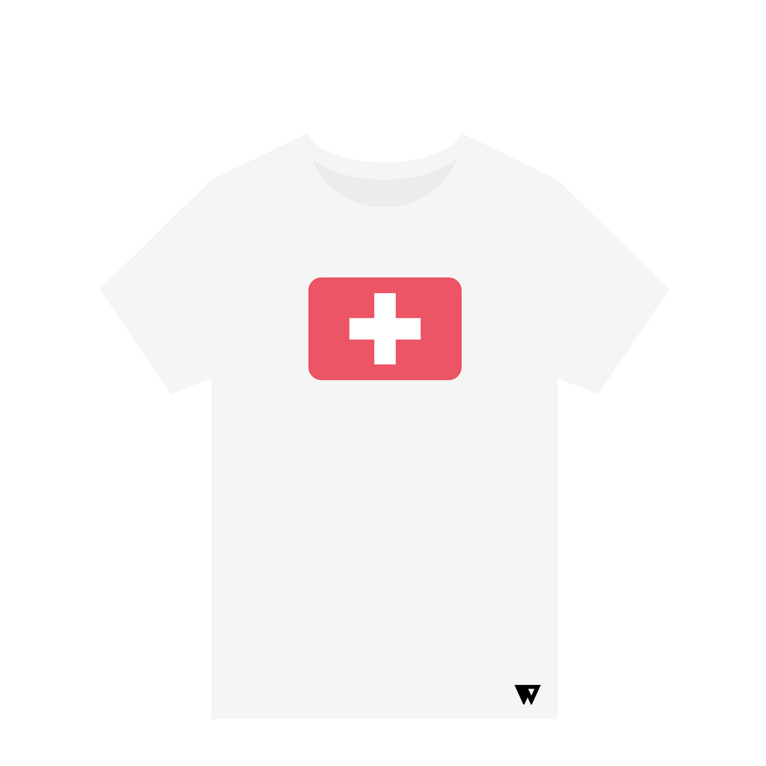 T-Shirt Swiss | Wuzzee