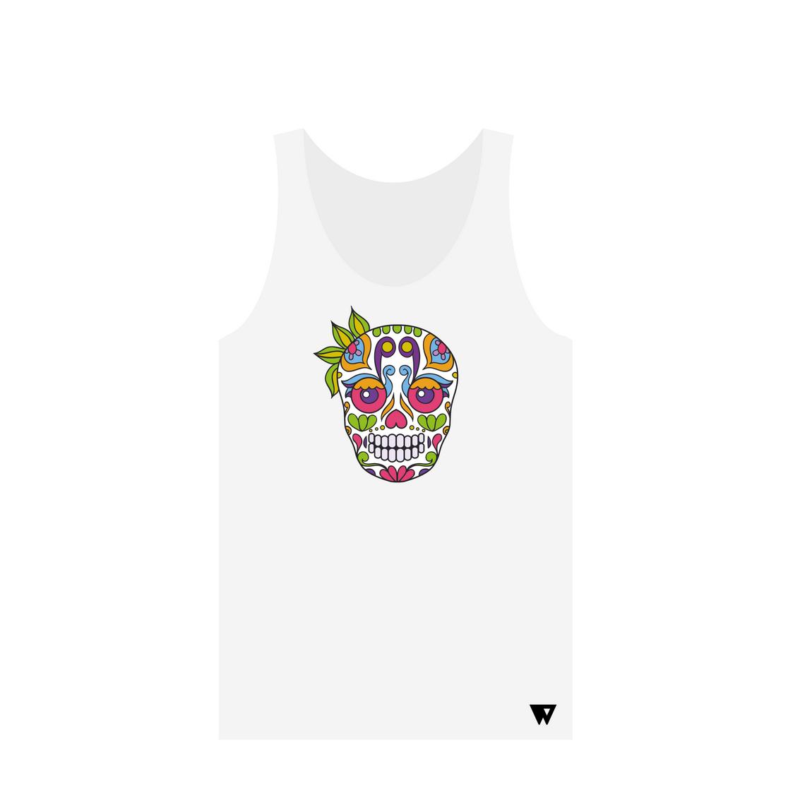 Tank Top Ganja Skull | Wuzzee