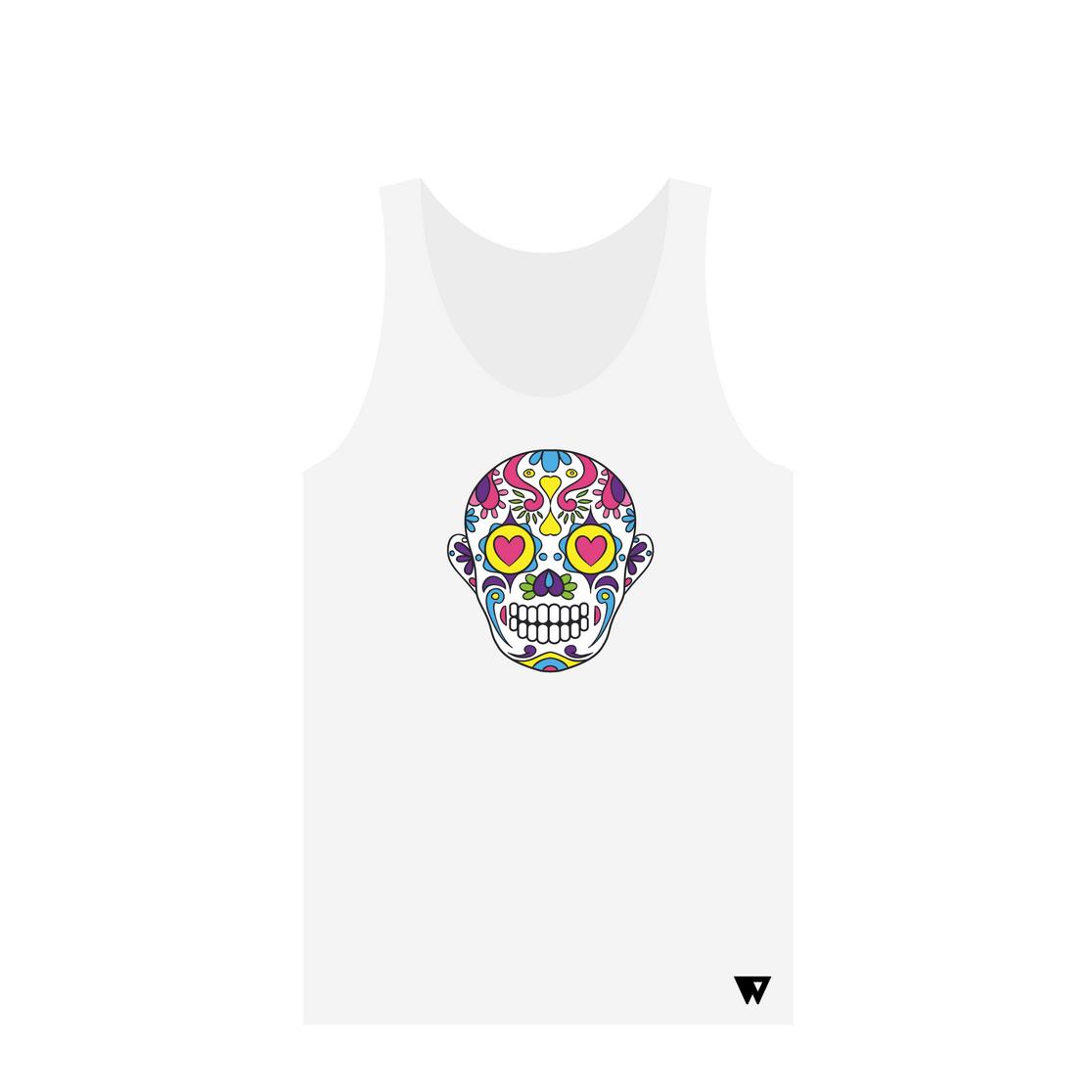 Tank Top Love Skull | Wuzzee