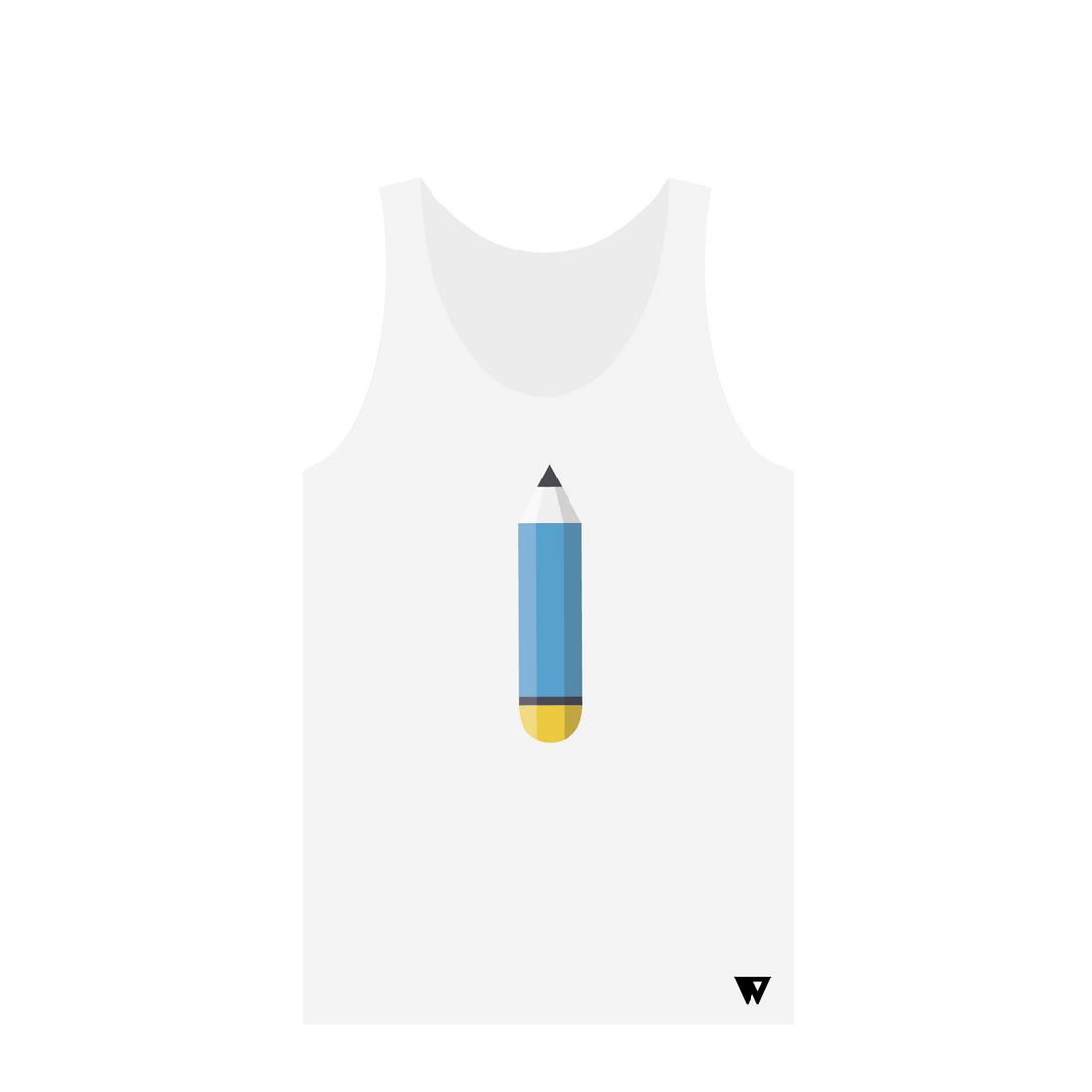 Tank Top Pencil | Wuzzee