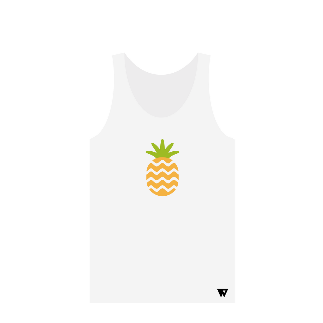 Tank Top Pineapple | Wuzzee
