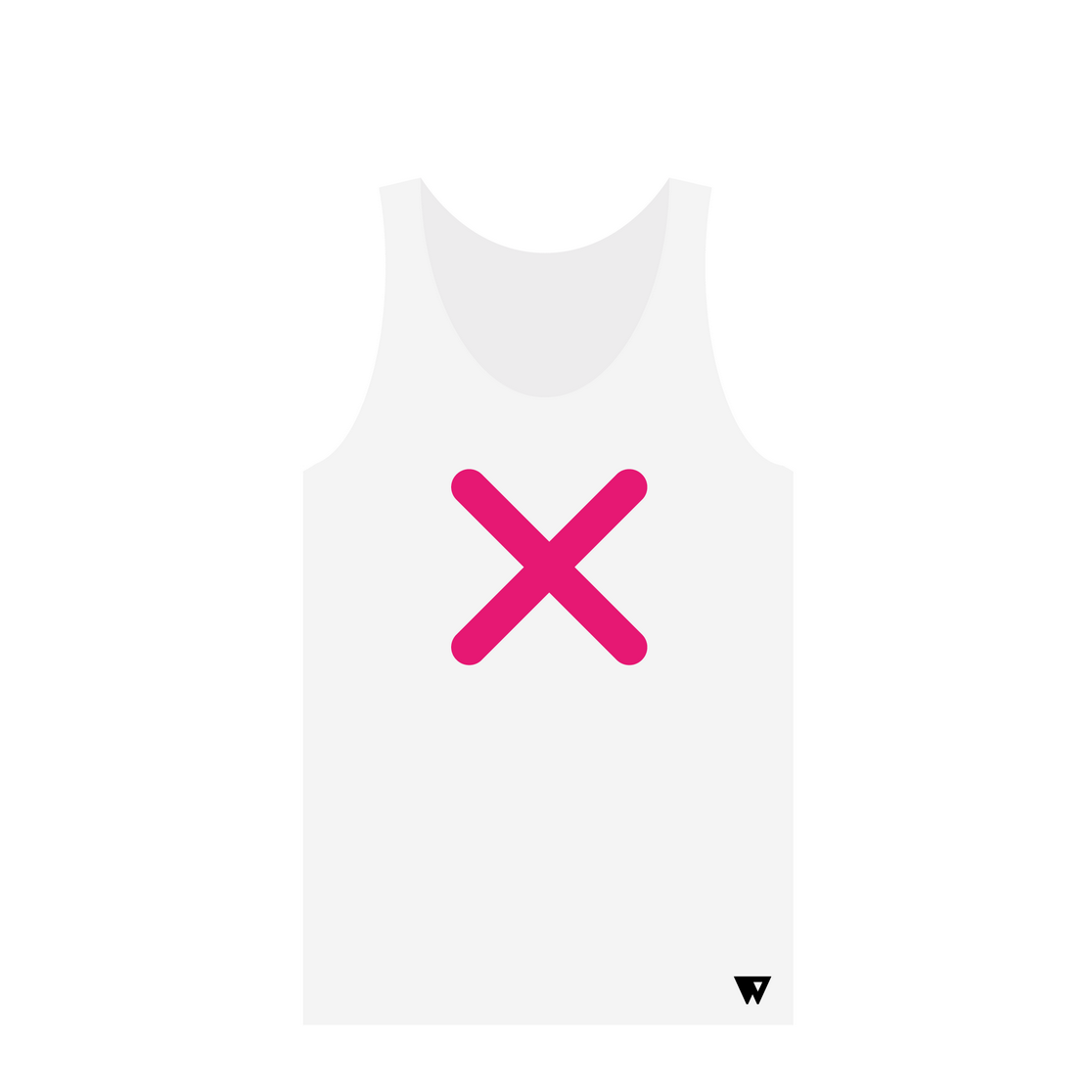 Tank Top Pink Cross | Wuzzee